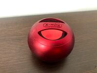GUC X-mini Capsule Speaker with built-in rechargeable battery (red)  Richmond
