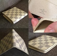 White Louis Vuitton wallet (new) never used  Laval, H7Y