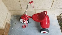 red and white Radio Flyer trike Pembroke Pines, 33026