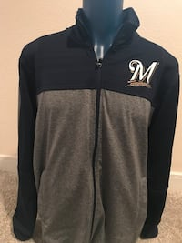 Brewers Track Jacket, Size XL Milwaukee