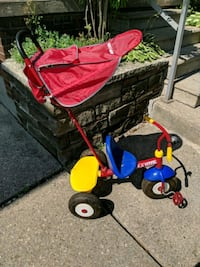 Toddlers tricycle - with steering function Toronto, M3K
