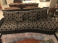 Black and brown sofa set Vaughan, L4H 3S6