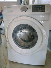 Brand new washer it has damage  Edmonton, T5T 6P7