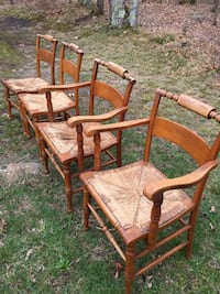 Hitchcock chairs (4)