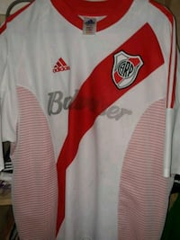 white and red Adidas jersey shirt Brownsville, 78520