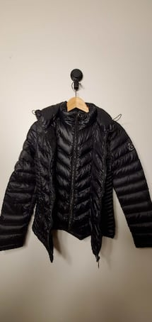 CK Women`s Down Jacket Size S Condition New