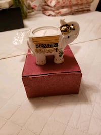Ceramic elephant tea light holder Queens, 11385