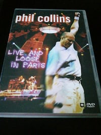 Phil Collins, DVD.  Alpedrete, 28430