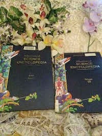 2 Illustrated 1998 Science encyclopedias