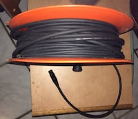 """6)- Quantity """"PIG-HOG"""" 20 Ft. Heavy Duty 8 M.M. XLR Microphone Cables Fort Myers, 33907"""