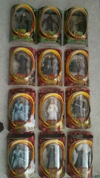 Lord of the Rings figures East Aurora, 14052