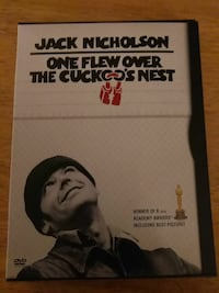 One Flew Over The Cuckoo Nest DVD movie case Eastover, 29044