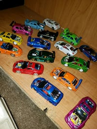 Small scale cars