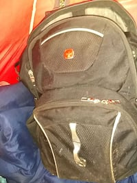 black and red Swiss backpack Oklahoma City, 73112