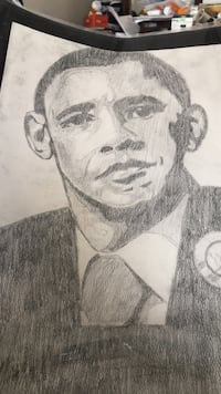 Obama drawing '08 Riverdale, 20737