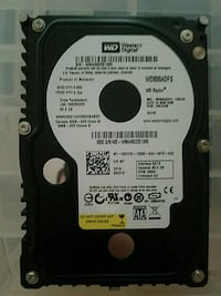 WD Raptor 80gb hdd Potomac