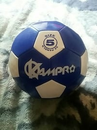 size 5 blue and white Kampro soccer ball Saint Catharines, L2R 5S8