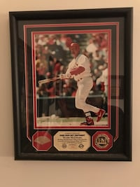 Mark McGwire Game Used Bat and Photomint COA Cockeysville, 21030