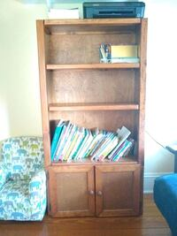 Shelf with cabinet
