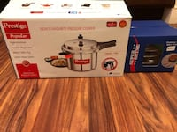 Prestige pressure cooker with 3 rack idly stand Cumberland, 02864