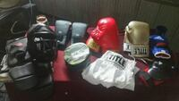 Boxing gloves and pads 3 sets and face mask Lake Charles, 70611