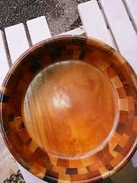 brown wooden bowl