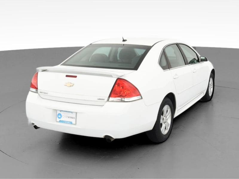 2014 Chevy Chevrolet Impala Limited sedan LS Sedan 4D White  9