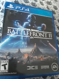 Sony PS4 battlefront 2 game case