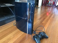sony playstation 3 original console and controller Rosemead, 91770