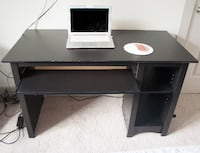 $100 Computer Desk w/ Keyboard Drawer and Shelves Mc Lean