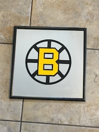 "13""x13"" Boston Bruins Mirror"