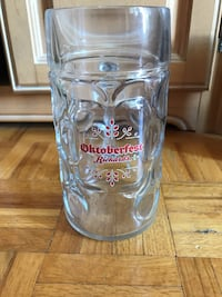 clear glass beer mug Beaconsfield, H9W 6E6