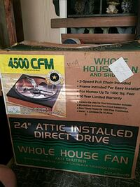Whole house exaust fan Wadsworth, 44281