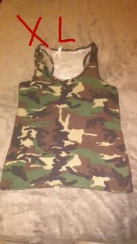 camouflage tank top Olney, 62450