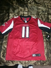 red and white NFL jersey Columbus, 31903