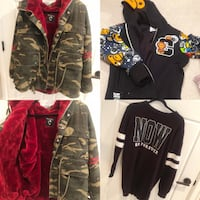 men and women assorted clothing 楓樹嶺, V4R 1M9