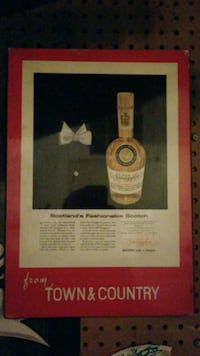 Old ceramic scotch painting/picture Frederick, 21702