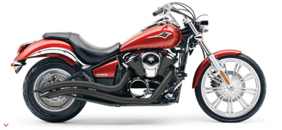 Fairly new Cobra Speedster Swept exhaust pipes for Kawasaki Vn900 50af49f5-dc8c-481e-8d44-db16e35eebfd