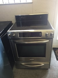 gray and black induction range oven Fort Lauderdale, 33312