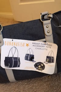 Bananafish breast pump and accessory tote in Charlotte grey  Lexington, 40509