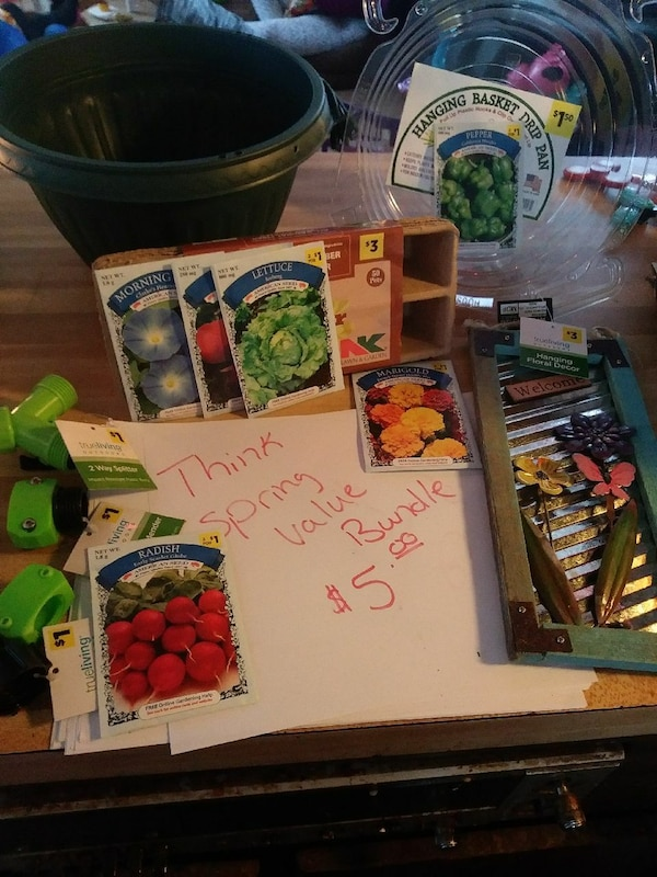 assorted seed pack lot