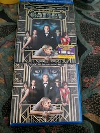 Blu-Ray disk Great Gatsby 3-D Pasco County, 34638
