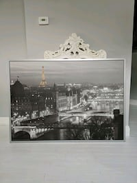 "59""x39"" paris photo with frame free Baltimore, 21225"