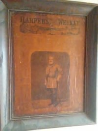 Harpers Weekly 1864 general Robert E Lee Stephenson, 22656