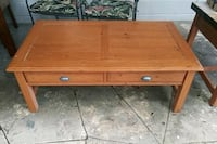 Real wood Coffee table 28 x 50 inches St. Petersburg, 33701
