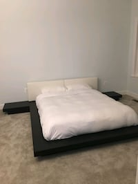 Queen Bed + mattress