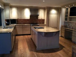 custom kitchen cabinets and appliances