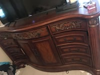 American signature dresser and night stand  Brandon, 33510