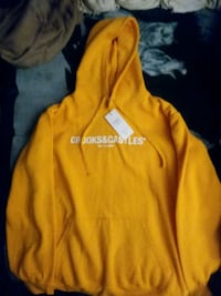 Men's2XL Yellow Crooks and Castles Sweater
