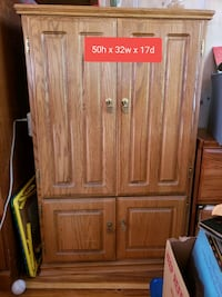 Small office  or tv armoire.